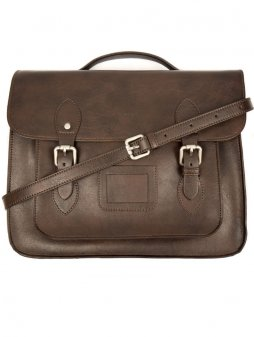 dark brown satchel 2 1