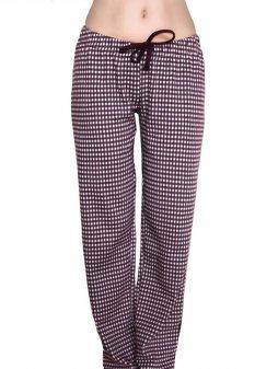 Dámské pyžamové kalhoty z biobavlny
