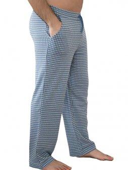Pánské pyžamové kalhoty z biobavlny