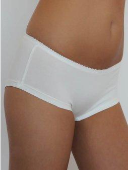 """Dámské bílé šortkové kalhotky """"Pants"""""""