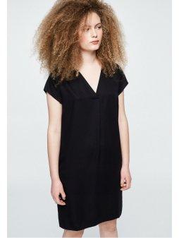 """Dámské černé šaty z eukalyptu """"LENKAA BLACK"""""""