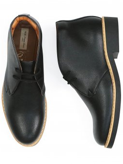 womens desert boots black 1 new