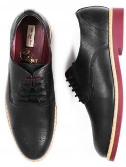 signature brogues black 1