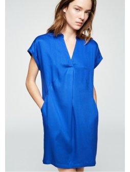 """Dámské šaty z eukalyptu """"NIAA SIGNAL BLUE"""""""