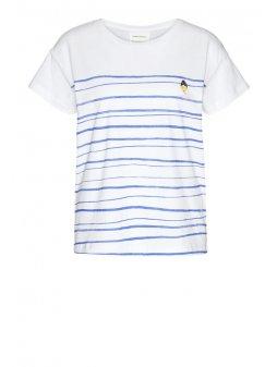 """Dámské tričko z biobavlny """"NELAA WOMAN AT THE SEA"""""""