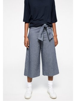 "Dámské kalhoty z biobavlny ""JUNAA CHAMBRAY"""