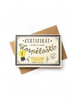 155 certifikat dospelosti
