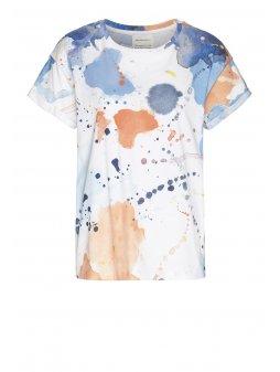 "Dámské tričko z biobavlny ""NAALINA COLOR SPLASH"""