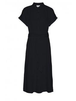 """ea642fb3008e Dámské černé šaty na zapínání """"MARJAA"""""""