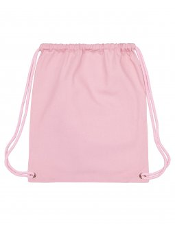 Gym Bag Cotton Pink Packshot Front Main 0