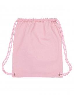 Gym Bag Cotton Pink Packshot Front Main 0