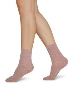 STELLA SHIMMERY SOCKS DUSTY ROSE 1 1000x