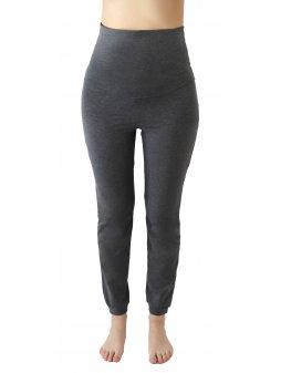 Kalhoty na jógu - antracit/melange