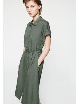 """c635943ad89c Dámské zelené šaty na zapínání """"MARJAA FRESH OLIVE"""""""