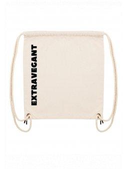 """Plátěný batoh """"EXTRAVEGANT"""""""