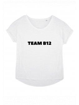 """Dámské tričko z biobavlny """"TEAM B12"""""""