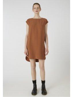 """Dámské hnědé šaty """"Hila maroon"""""""