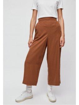 """Dámské hnědé culotte kalhoty z eukalyptu """"KAYLA maroon"""""""
