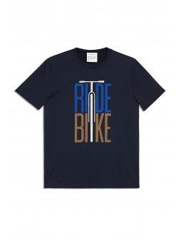 "Pánské tričko ""AADO RIDE BIKE"""