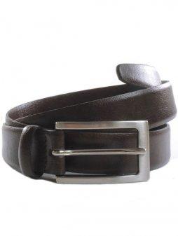 """Tmavě hnědý pásek """"Classic 3cm Belt Dark Brown"""""""