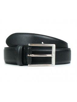 classic 3cm belt black
