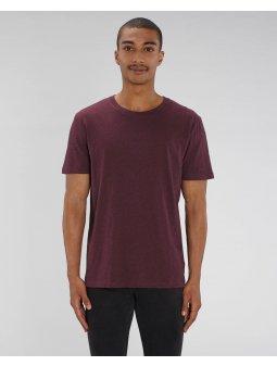 """Unisex tričko """"Creator"""" vínové melírované"""