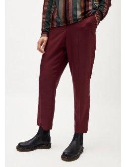 """Dámské vínové kalhoty z tencelu """"HERTTAA"""""""