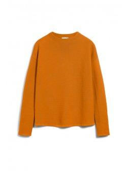 "Dámský oranžový svetřík ""MEDINAA Pumpkin"""