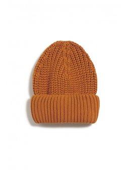 """Oranžová čepice z biobavlny """"CAMIRAA pumpkin"""""""