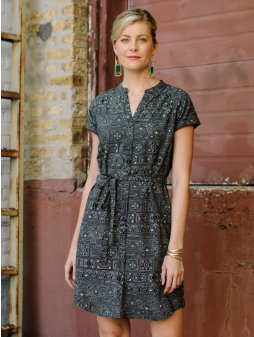 dress whidbyshirtdress blackshapes m