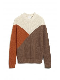 """Dámský barevný svetr """"ANTONELLAA color block"""""""