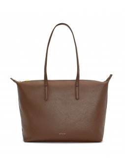 "Hnědá kabelka ve stylu shopper bag ""Abbi Brick"""