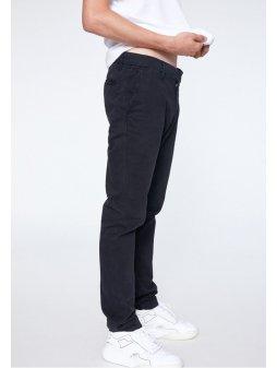 """Pánské černé kalhoty z biobavlny """"EDVAAN BLACK"""""""