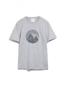 """Pánské tričko z biobavlny """"JAAMES scribble mountain"""""""