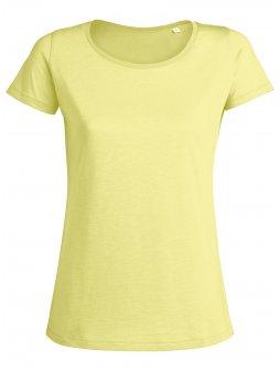 """Dámské tričko """"Stella Loves Slub"""" žluté"""