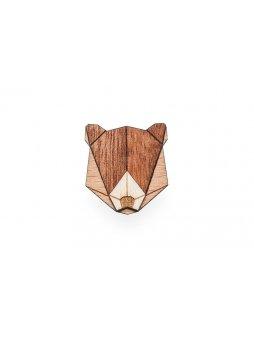 0 bear brooch cover