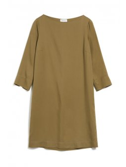 "Dámské hnědé šaty z eukalyptu ""VIVEKAA golden khaki"""