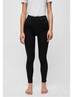 """Dámské džíny s vyšším pasem """"Ingaa X STRETCH black night"""""""