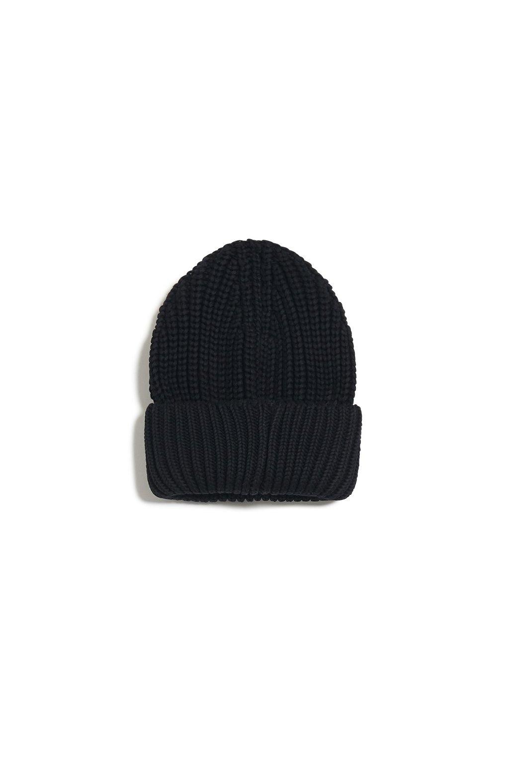 "Dámska čierna čapica ""CAMIRAA black"""