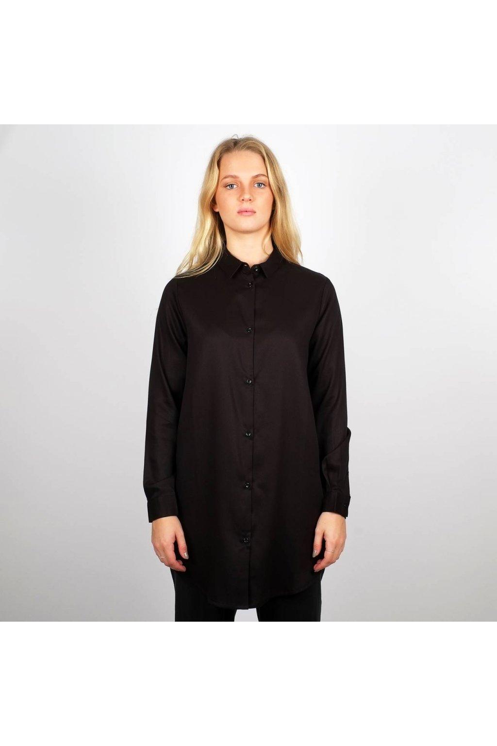 """Dámska čierna košeľa """"Fredericia Black"""""""