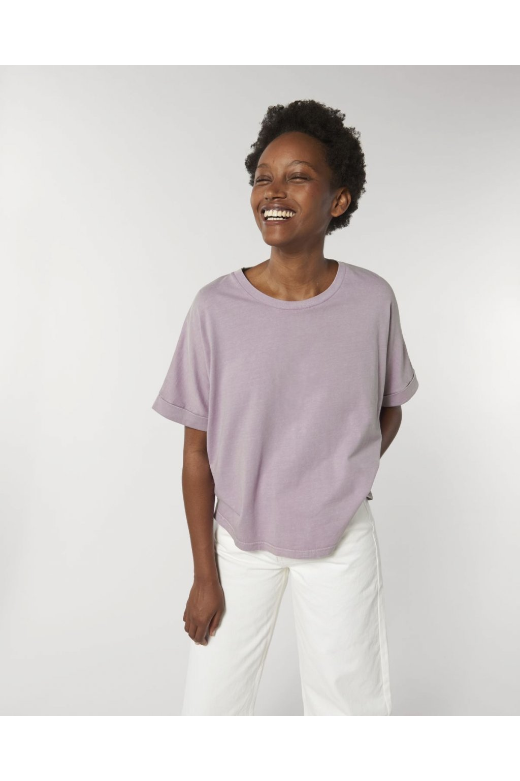 "Dámske tričko ""Stella Collider Vintage"" Aged Lilac Petal"