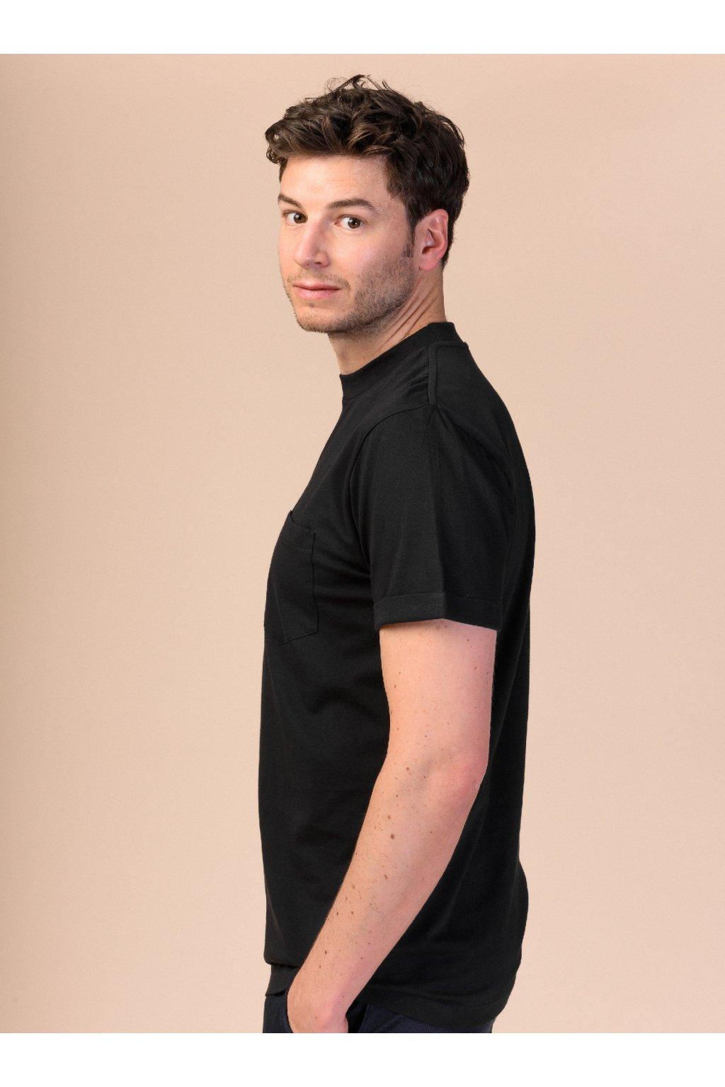 """Pánske jednoduché tričko """"LIEM black"""""""
