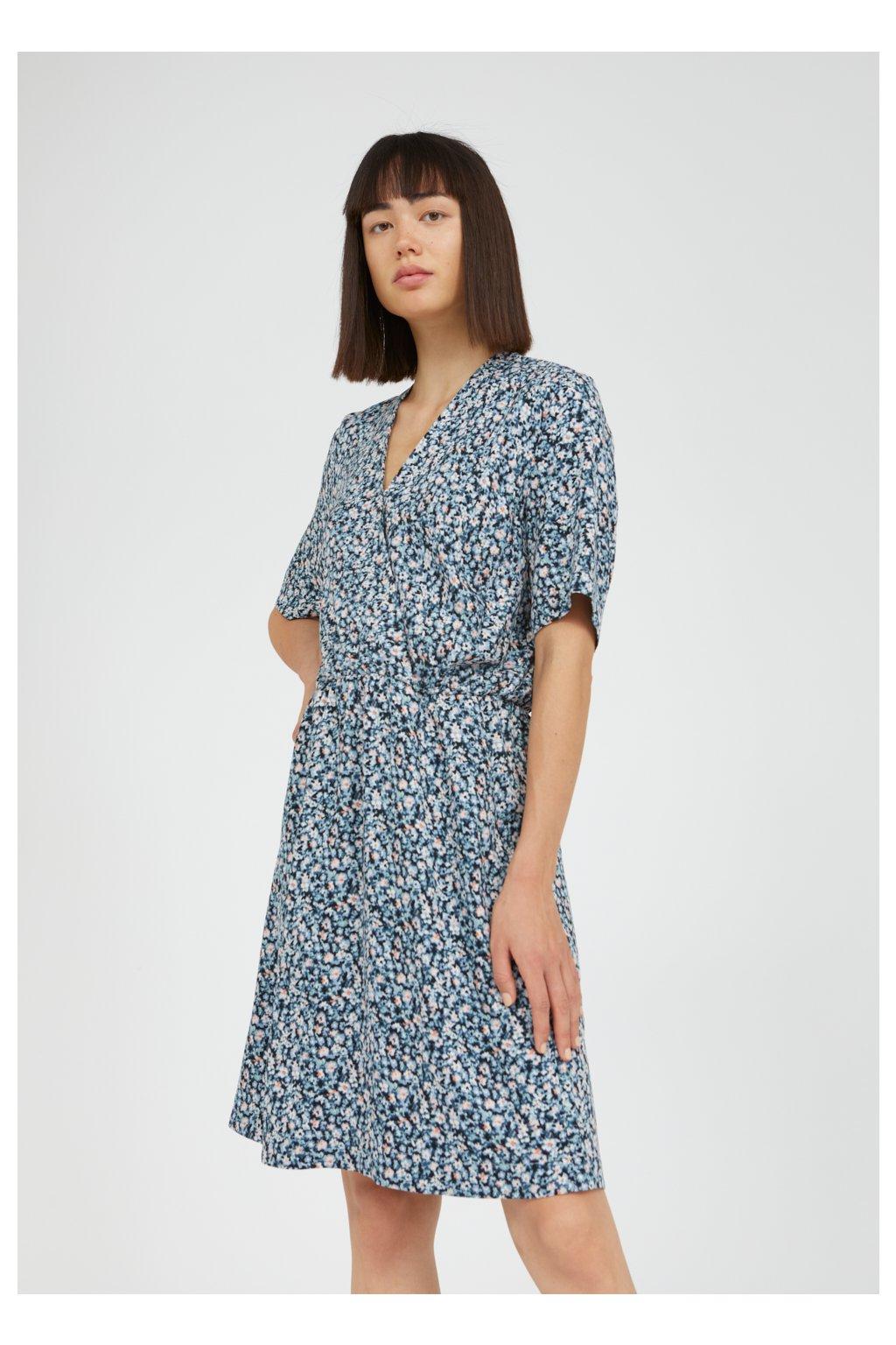 """Dámske vzorované šaty """"AIRAA PRIMROSE foggy blue"""""""
