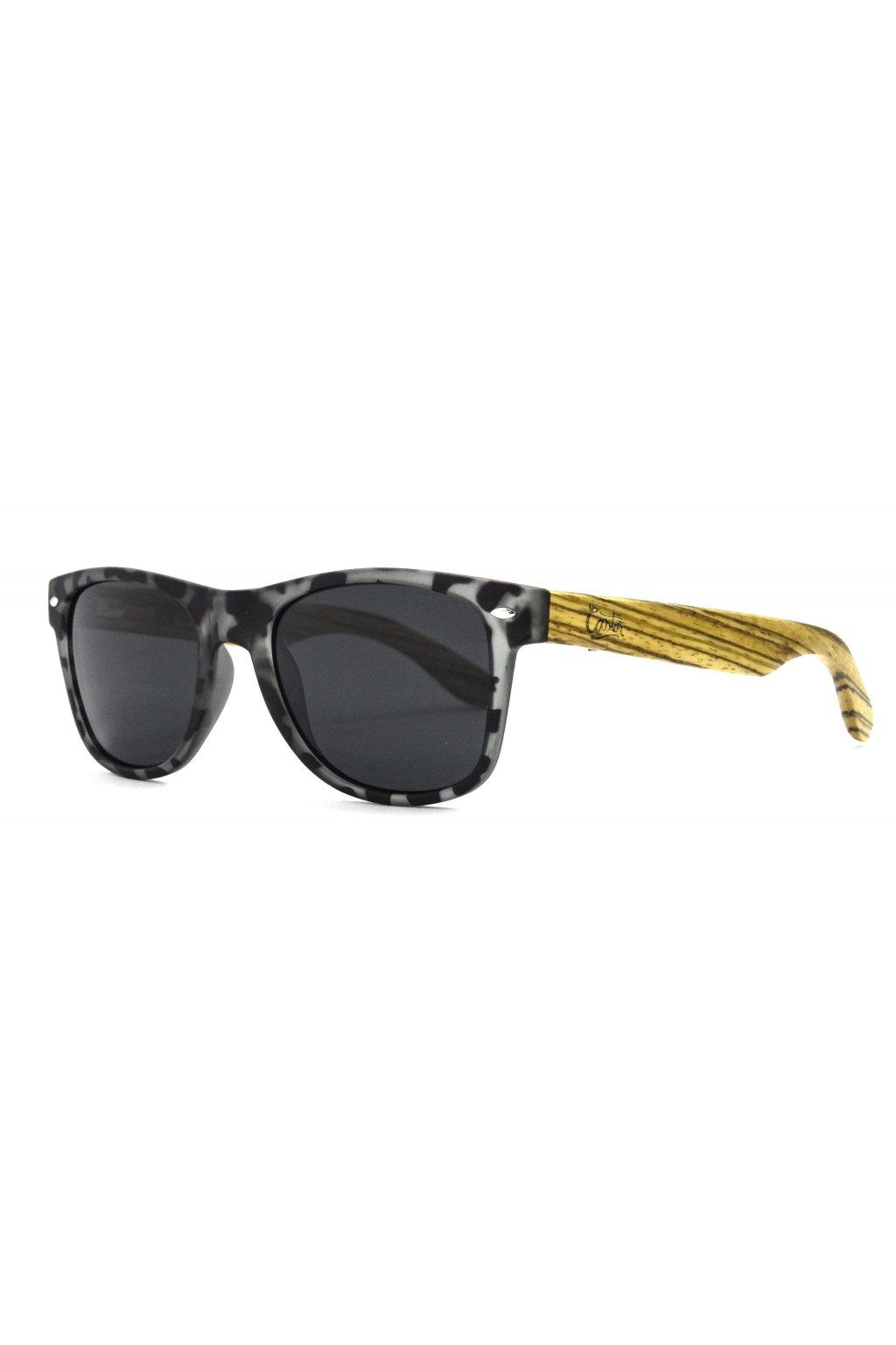 """Ekologické slnečné okuliare Castor """"081 WAY TORTOISE GREY BLACK"""""""