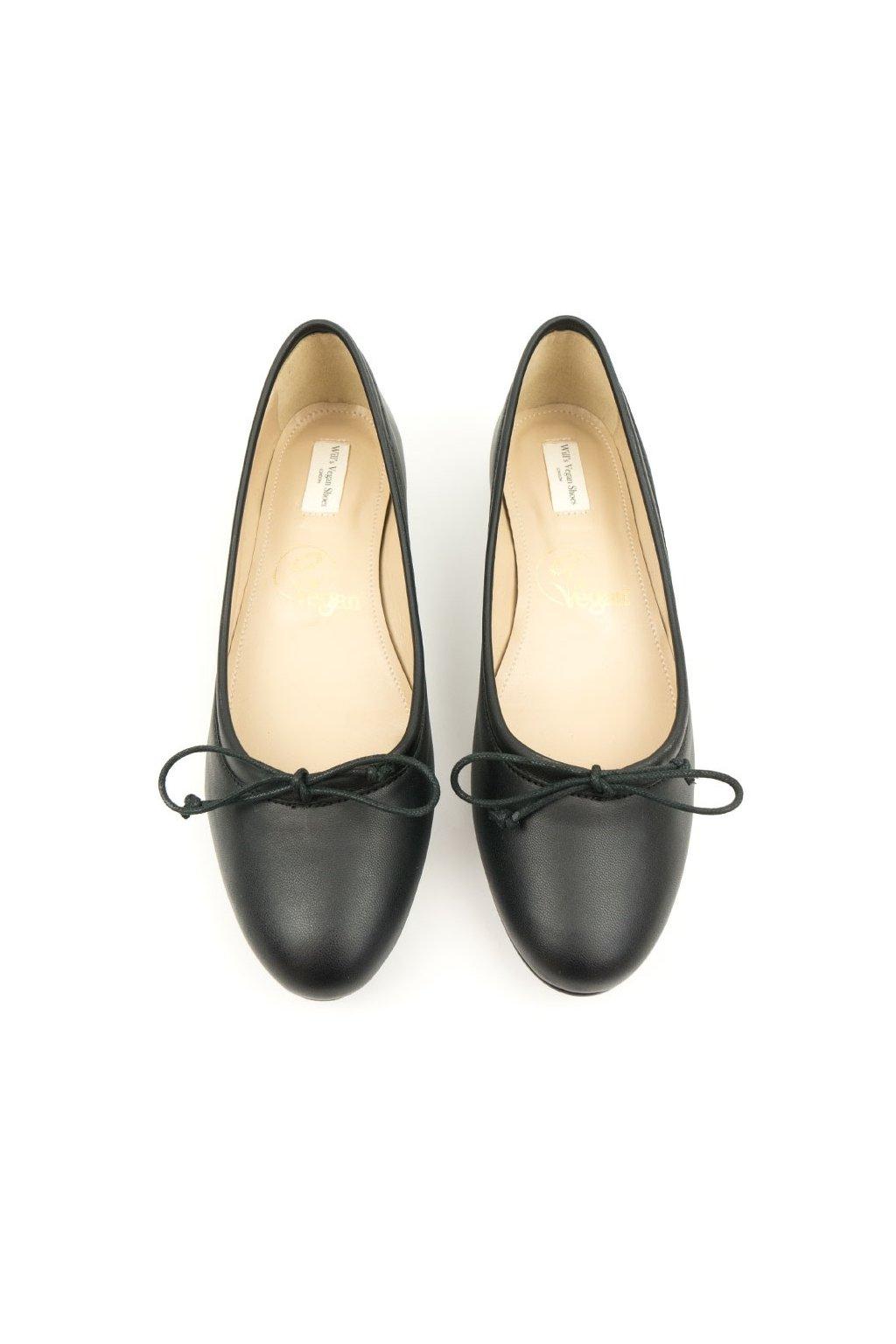 "Dámske čierne balerínky ""Ballerina Flats"""