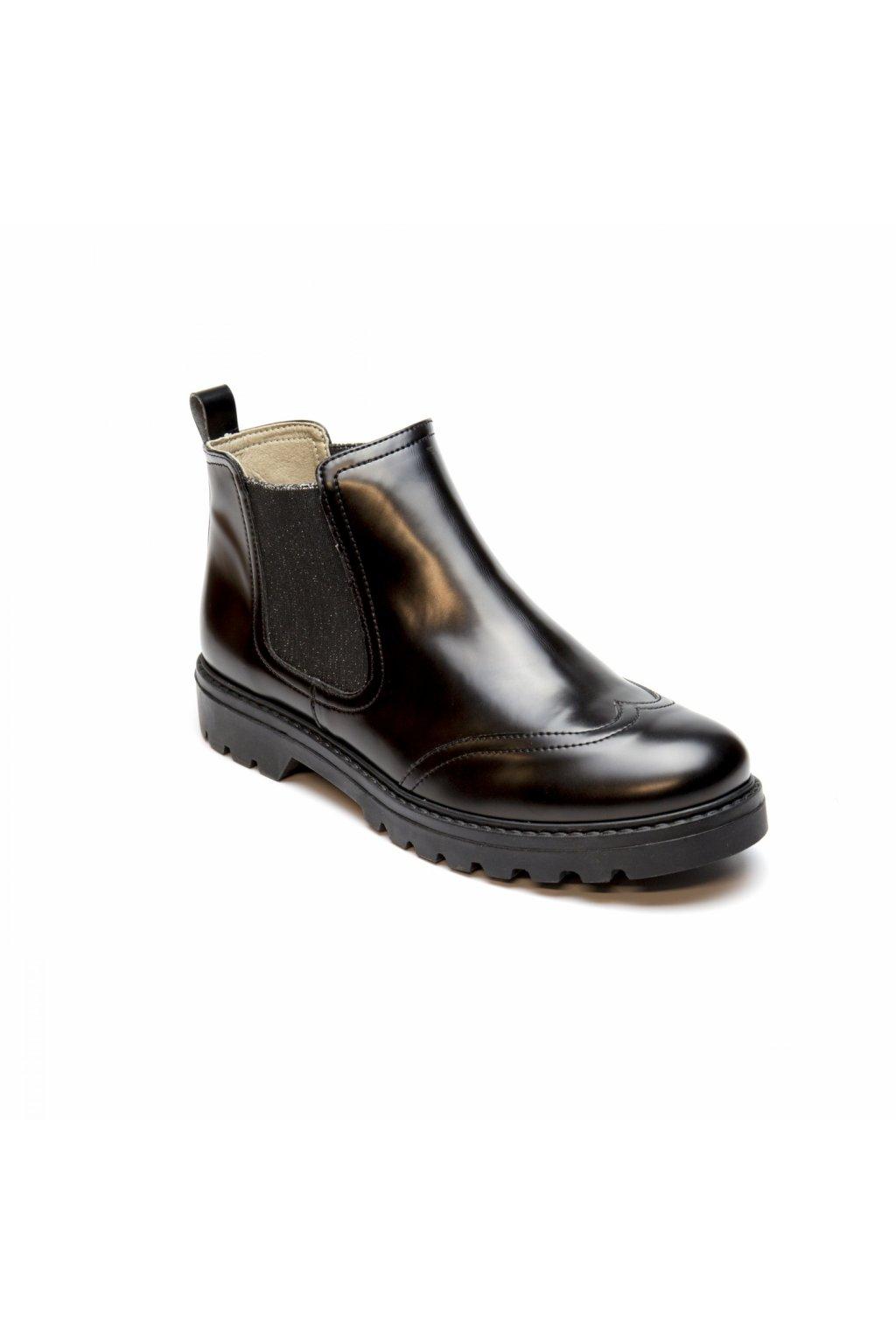 """Dámské čierne členkové topánky """"Kala"""""""