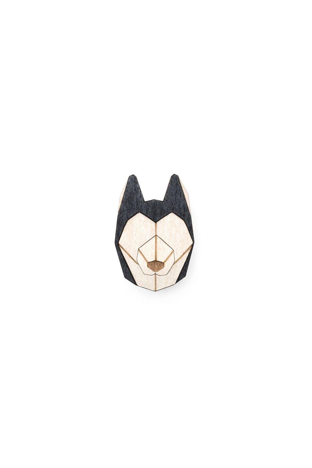 0 husky brooch cover