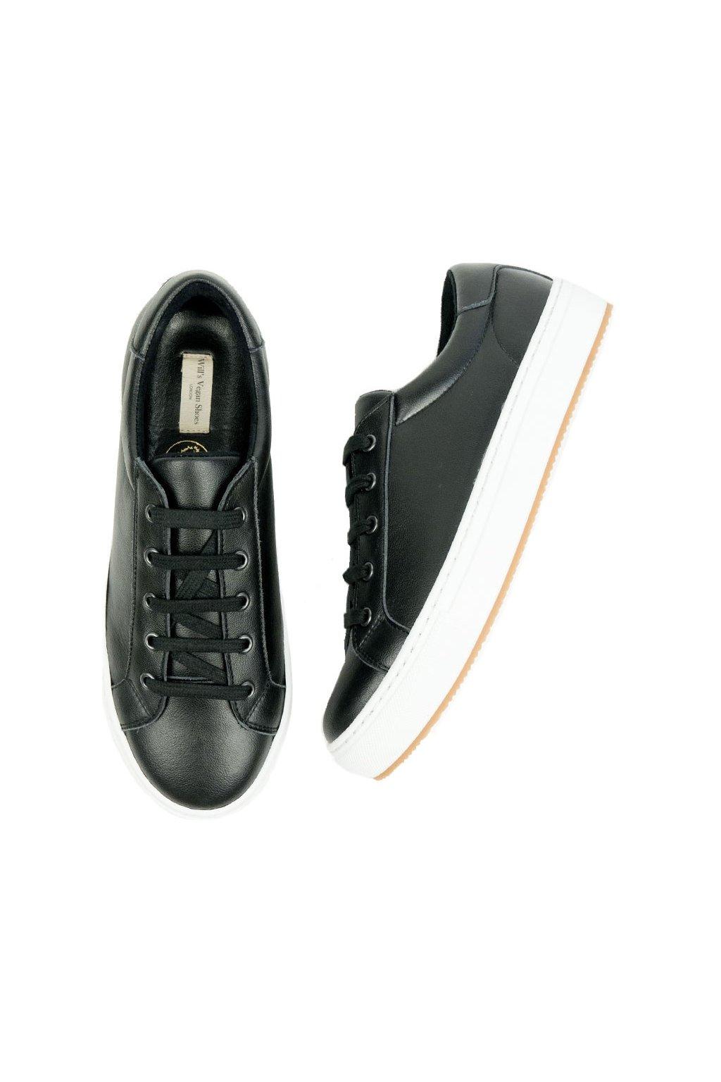 """Dámske čierne tenisky z biooleja """"Smart Sneakers"""""""