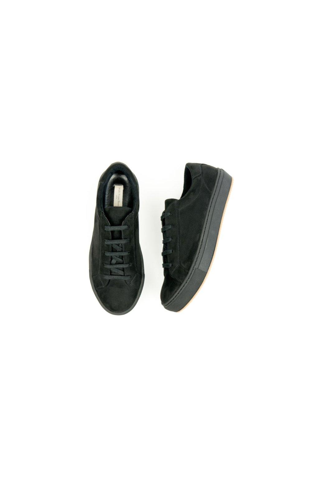 """Dámske čierne tenisky """"Colour Sneakers Black"""""""