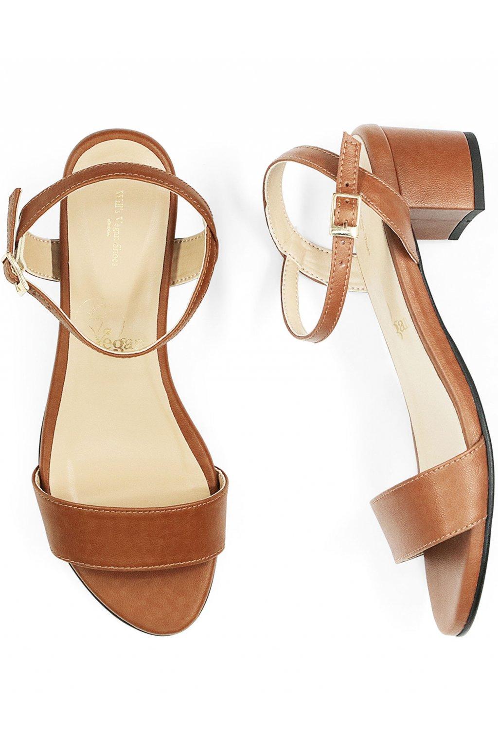 """Dámske hnedé sandálky """"City Sandals"""""""